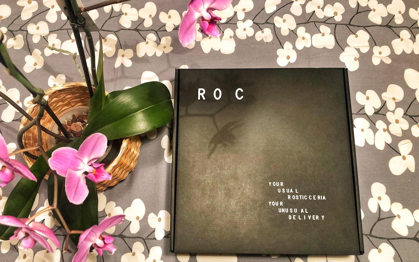 Il box consegnato da ROC, nel servizio di delivery pensato per Milano e dintorni. © oltreilbalcone