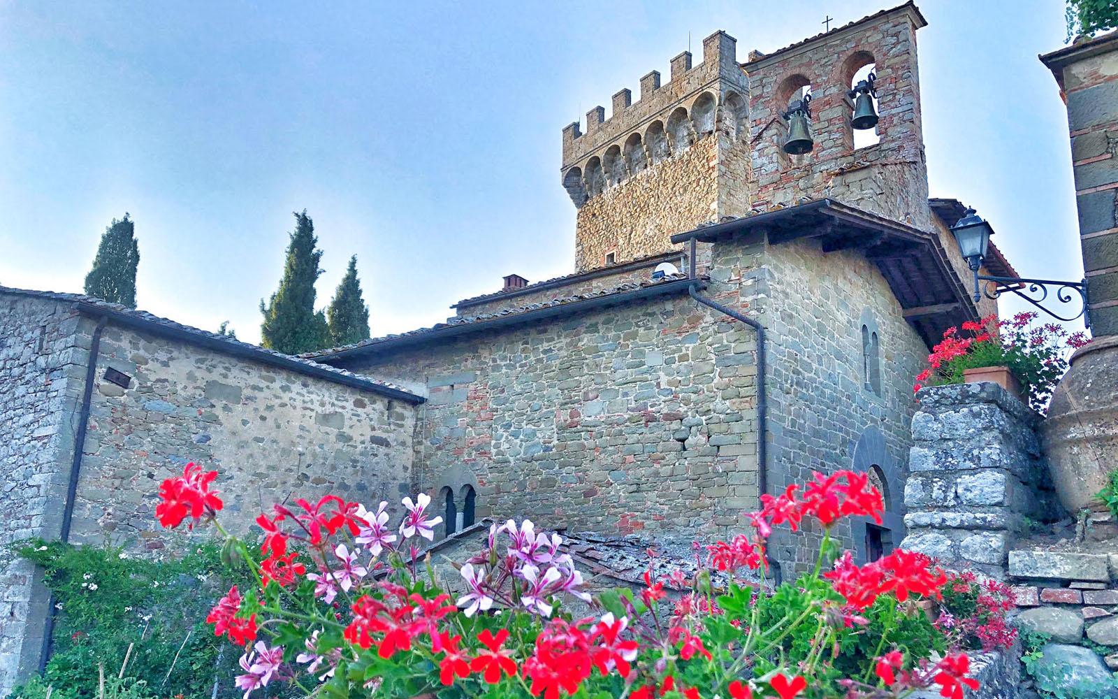Uno scorcio del Castello di Gargonza. © oltreilbalcone