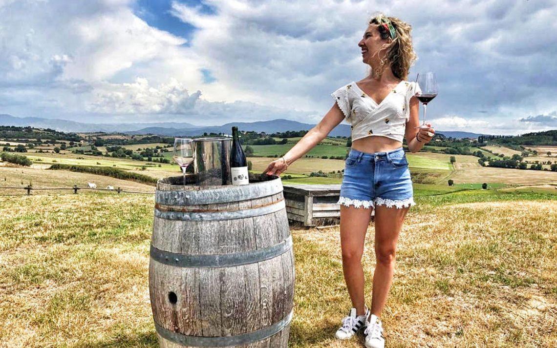 Val di Chiana vino © oltreilbalcone