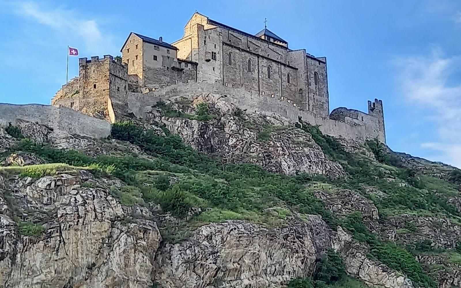 La fortezza di Valère a Sion. © oltreilbalcone