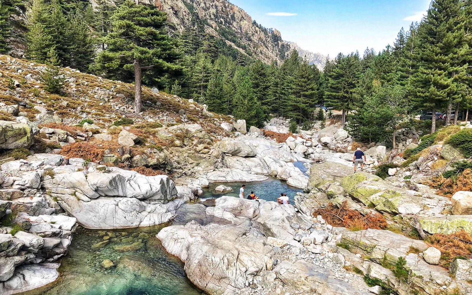 Le piscine naturali, a pochi chilometri da Corte. © oltreilbalcone