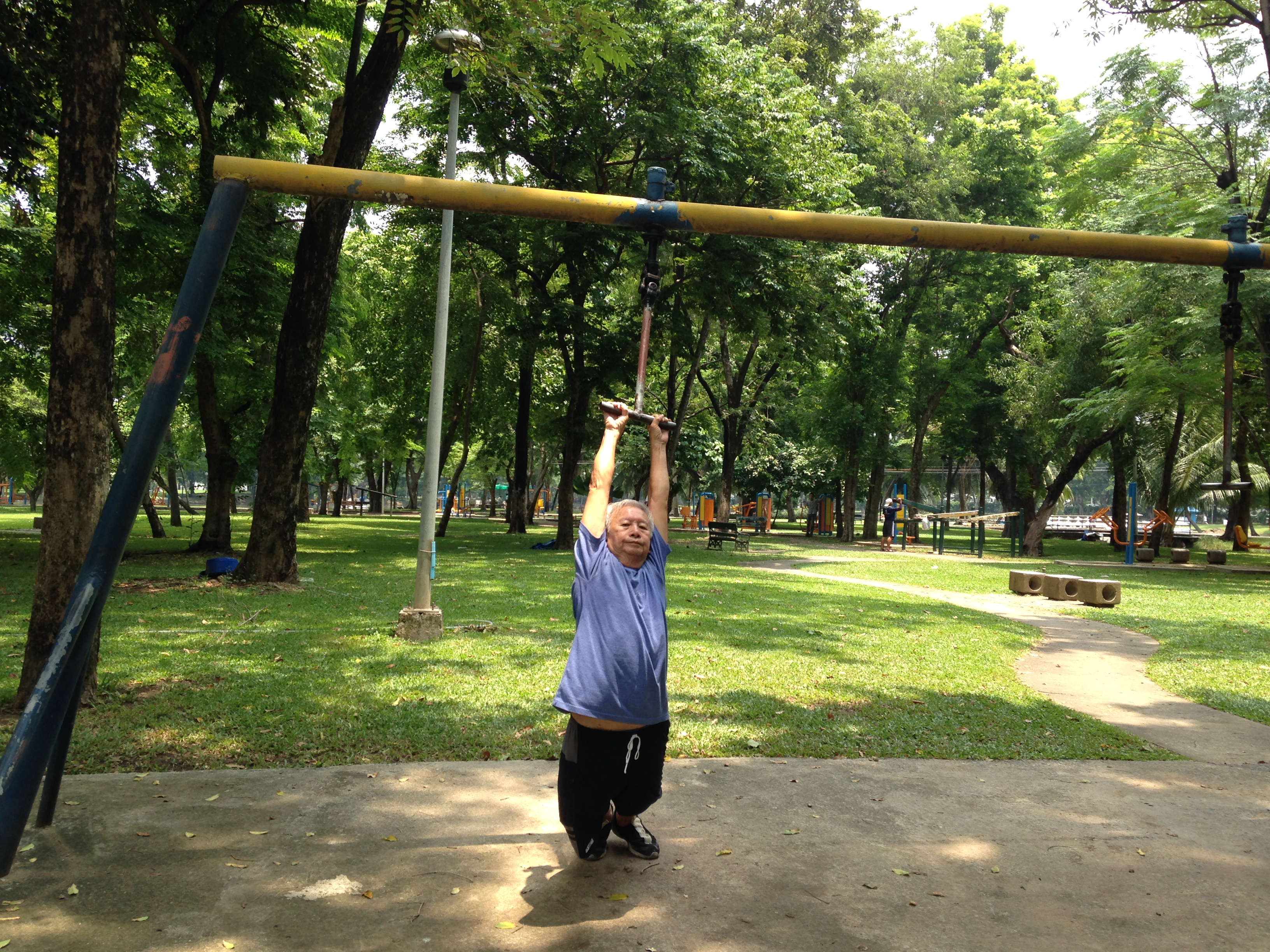 Percorso vita, Lumpini Park @oltreilbalcone