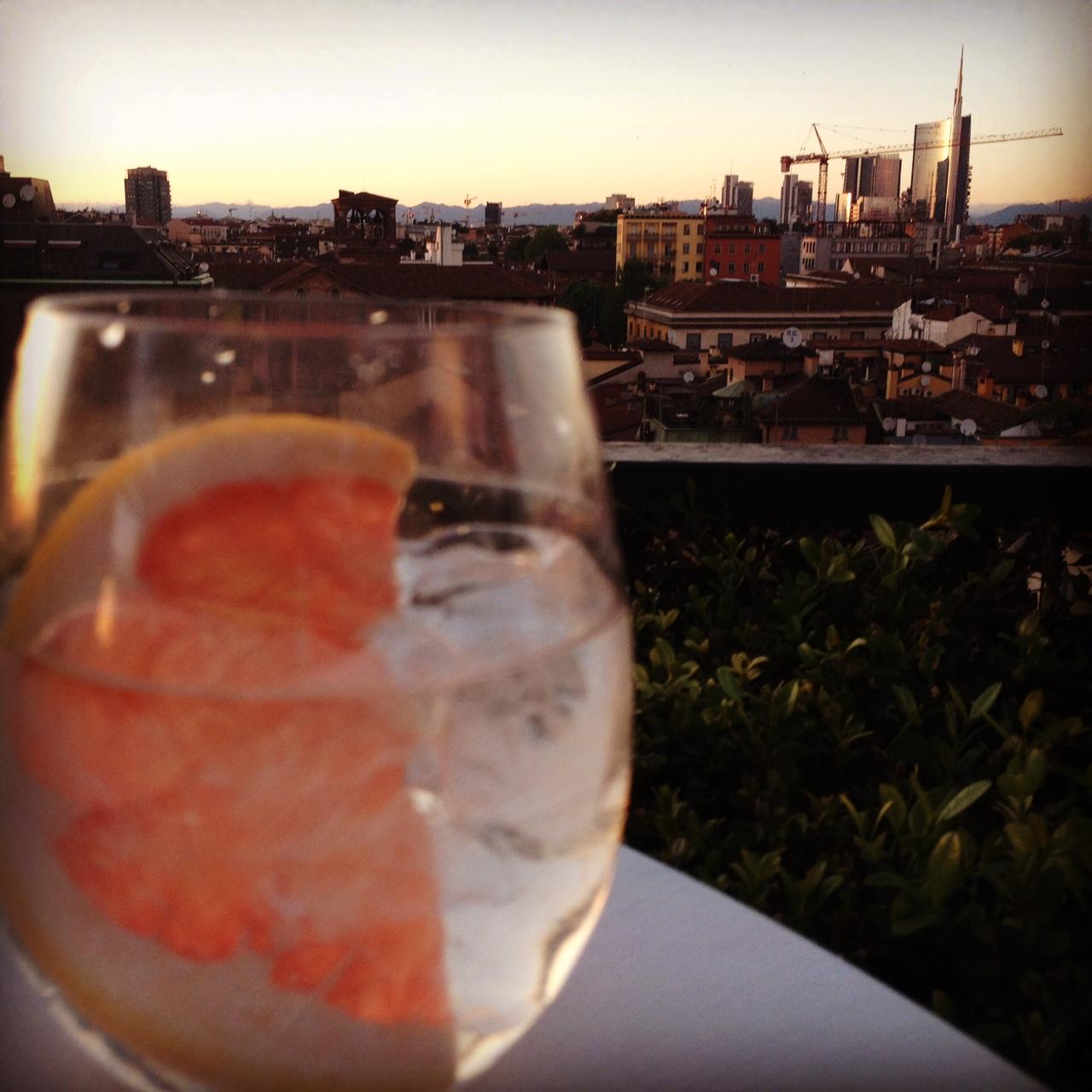 Gin tonic @oltreilbalcone