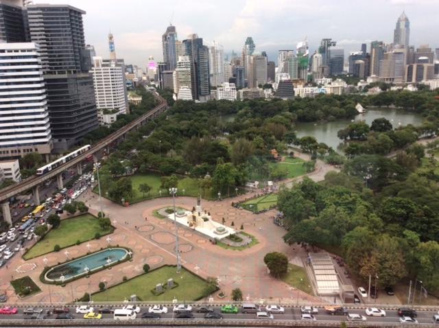 Lumpini Park @oltreilbalcone