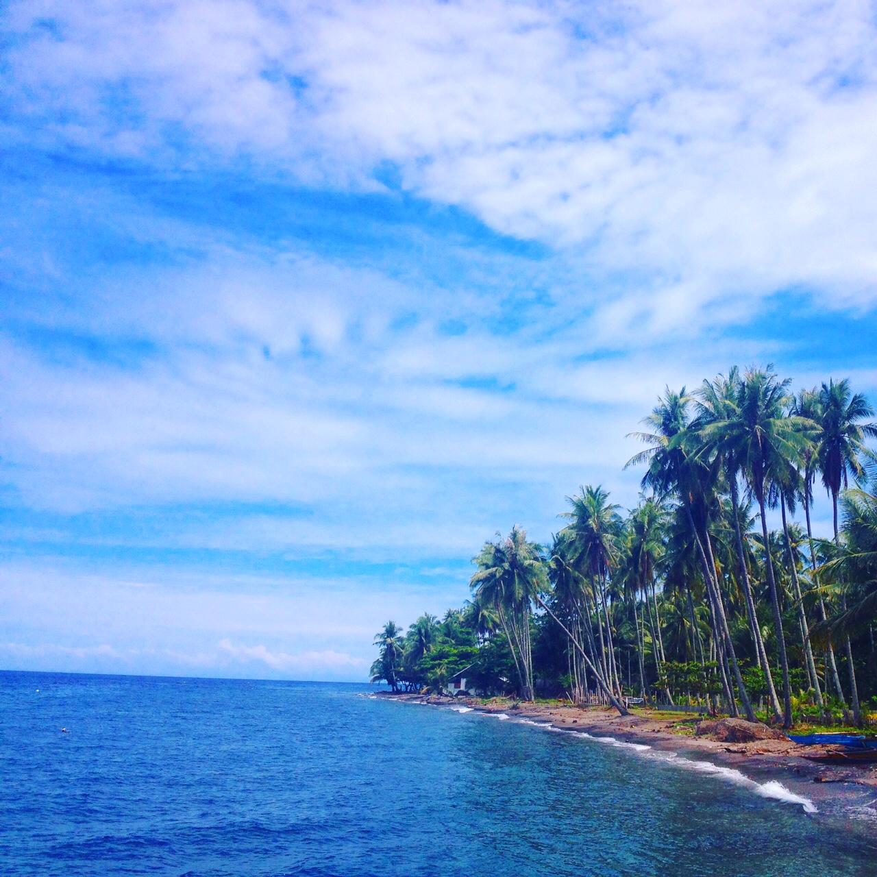 La spiaggia dell'Atmosphere Resort