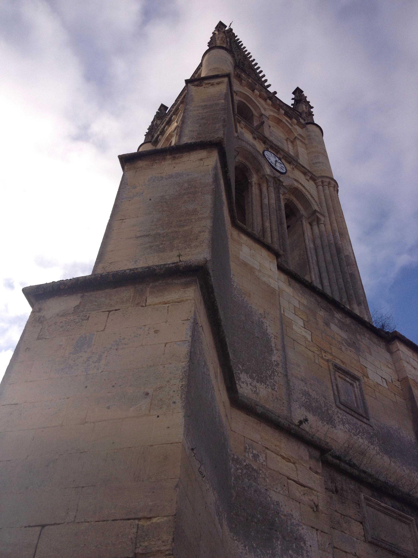 La chiesa monolitica di Saint-Émilion.