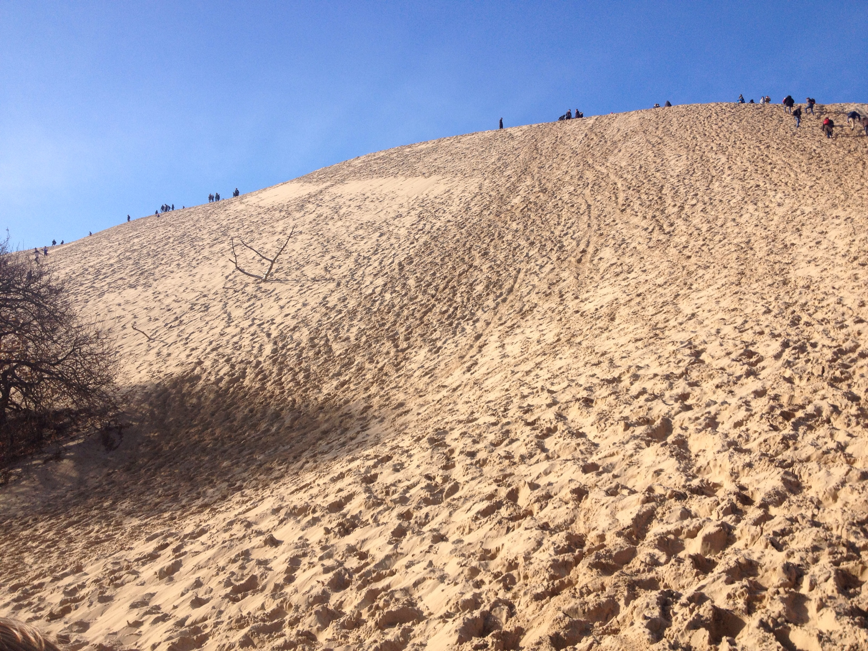 La gigantesca Dune du Pilat.