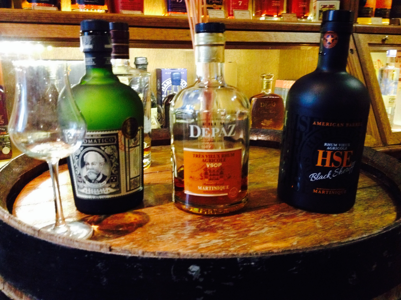 Degustazione di rum a La Petite Martinique, a Bordeaux.