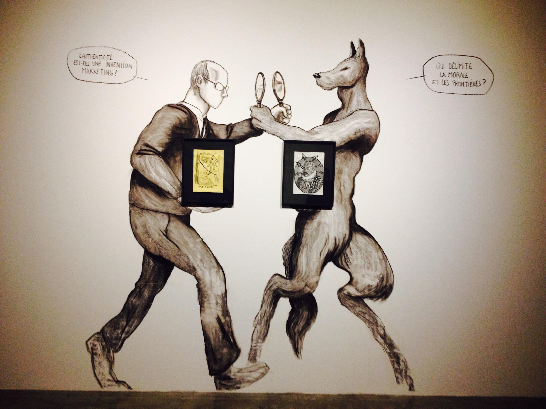 Una delle opere in mostra al CAPC di Bordeaux.
