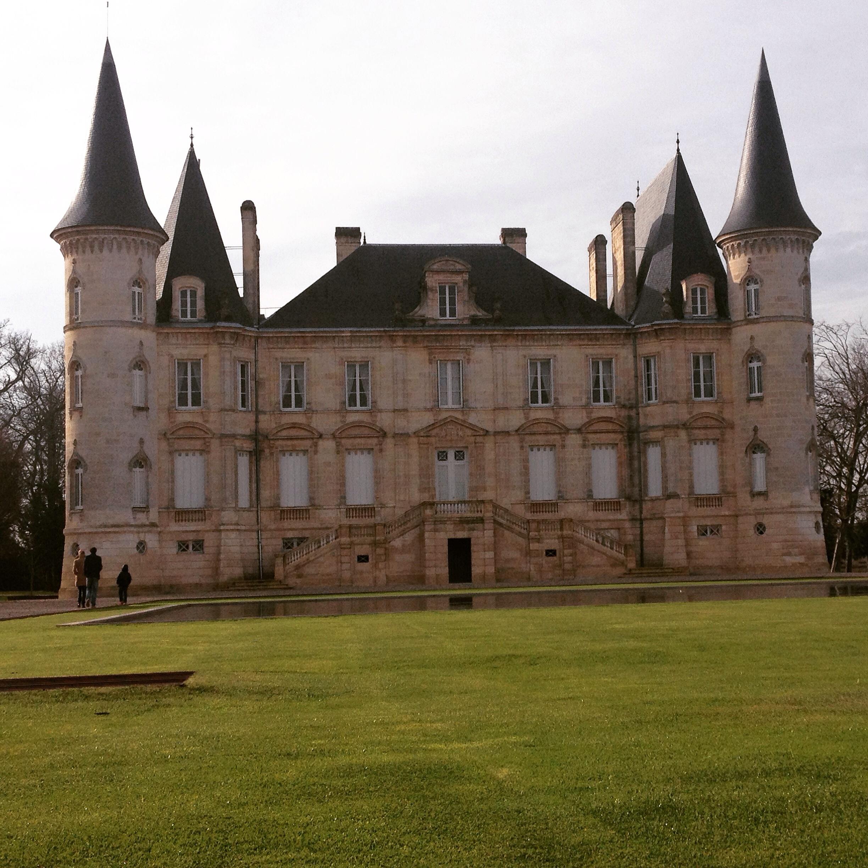 Uno Châteaux sulla rive gauche.