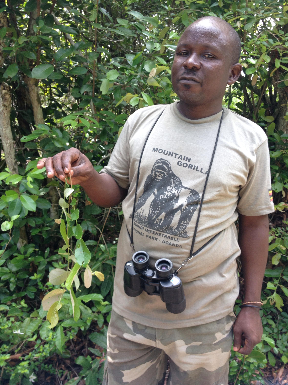 Alex, la mia guida durante l'esplorazione della foresta Arabuko-Sokoke. © oltreilbalcone