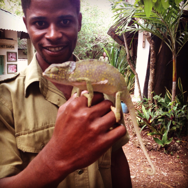 Dixon, la guida del Bioparco dei Serpenti di Watamu. © oltreilbalcone