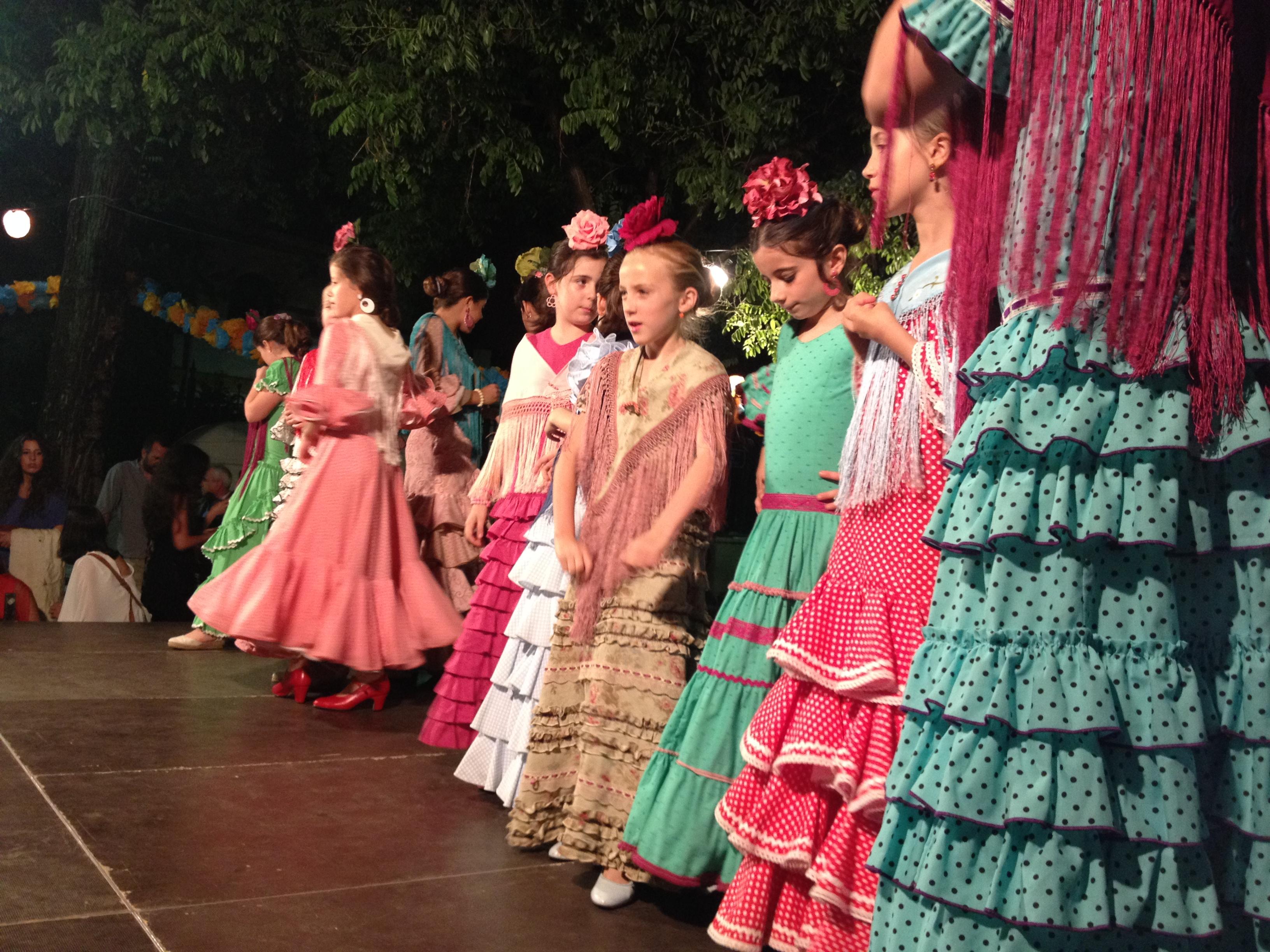 Un saggio di flamenco tra le strade di Siviglia