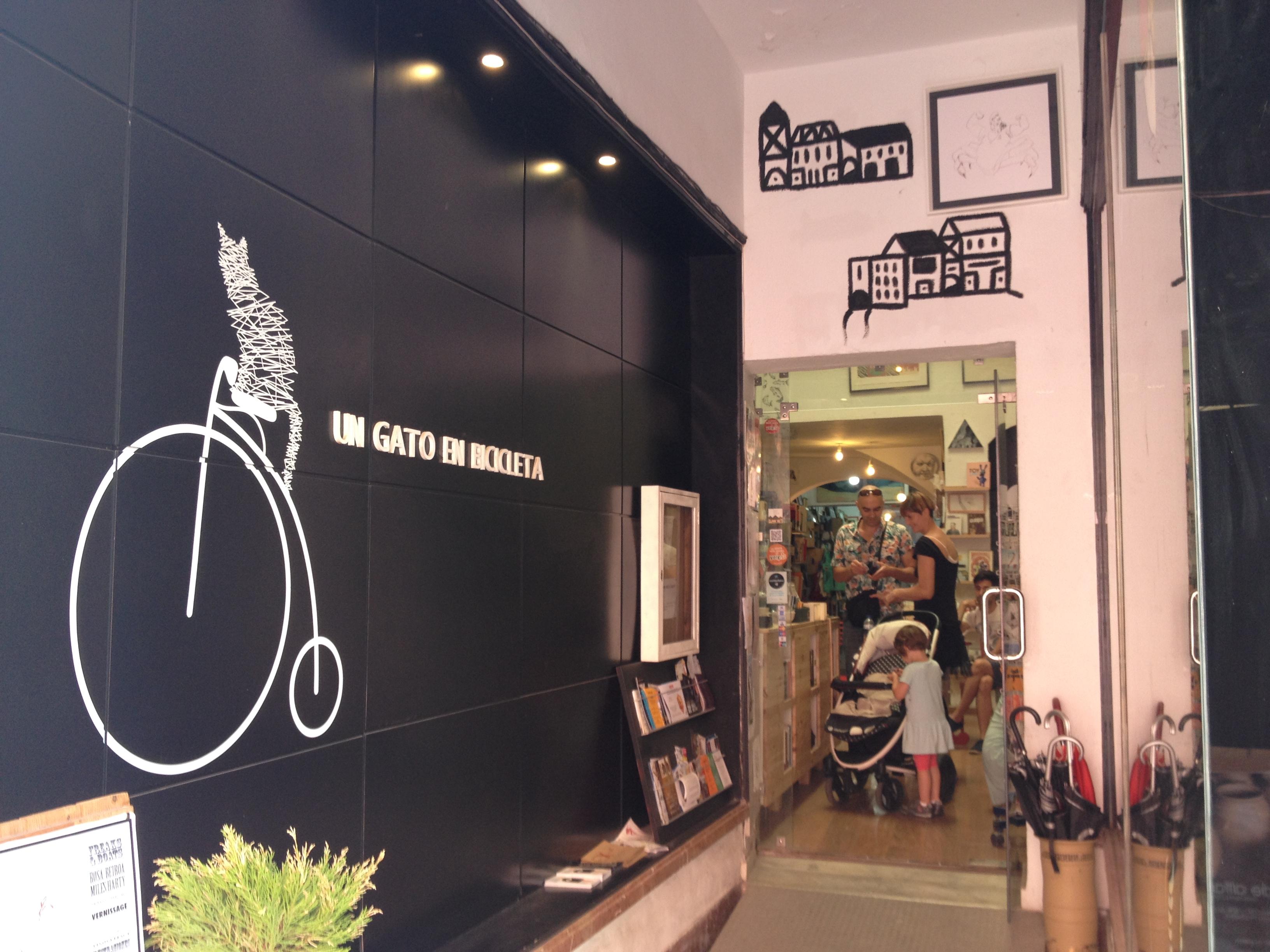 Libreria, Siviglia @oltreilbalcone
