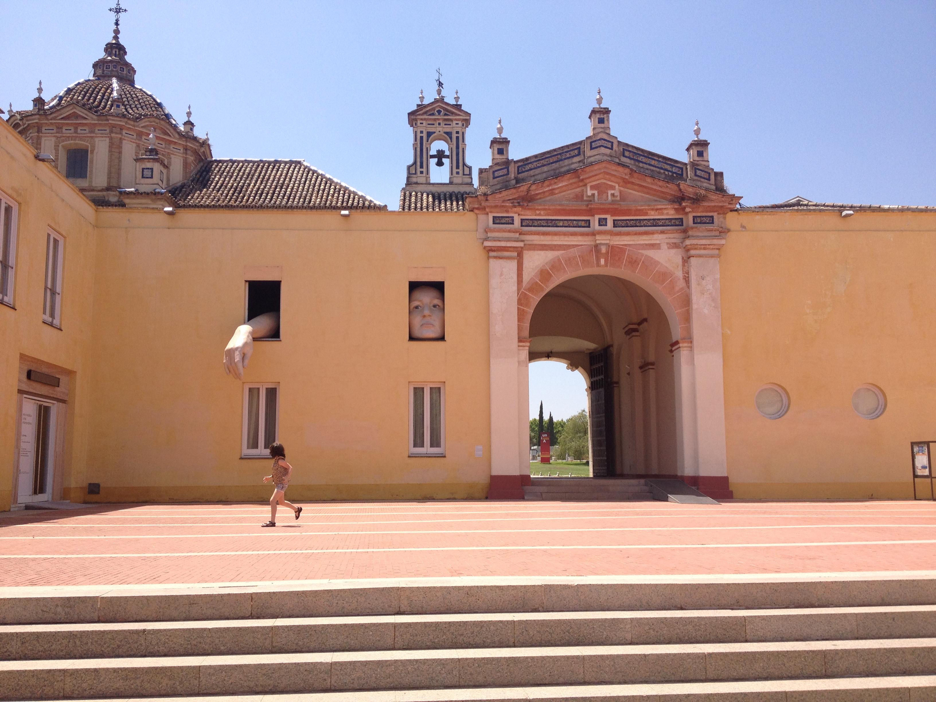 Centro Andaluso di Arte Contemporanea, Siviglia @oltreilbalcone