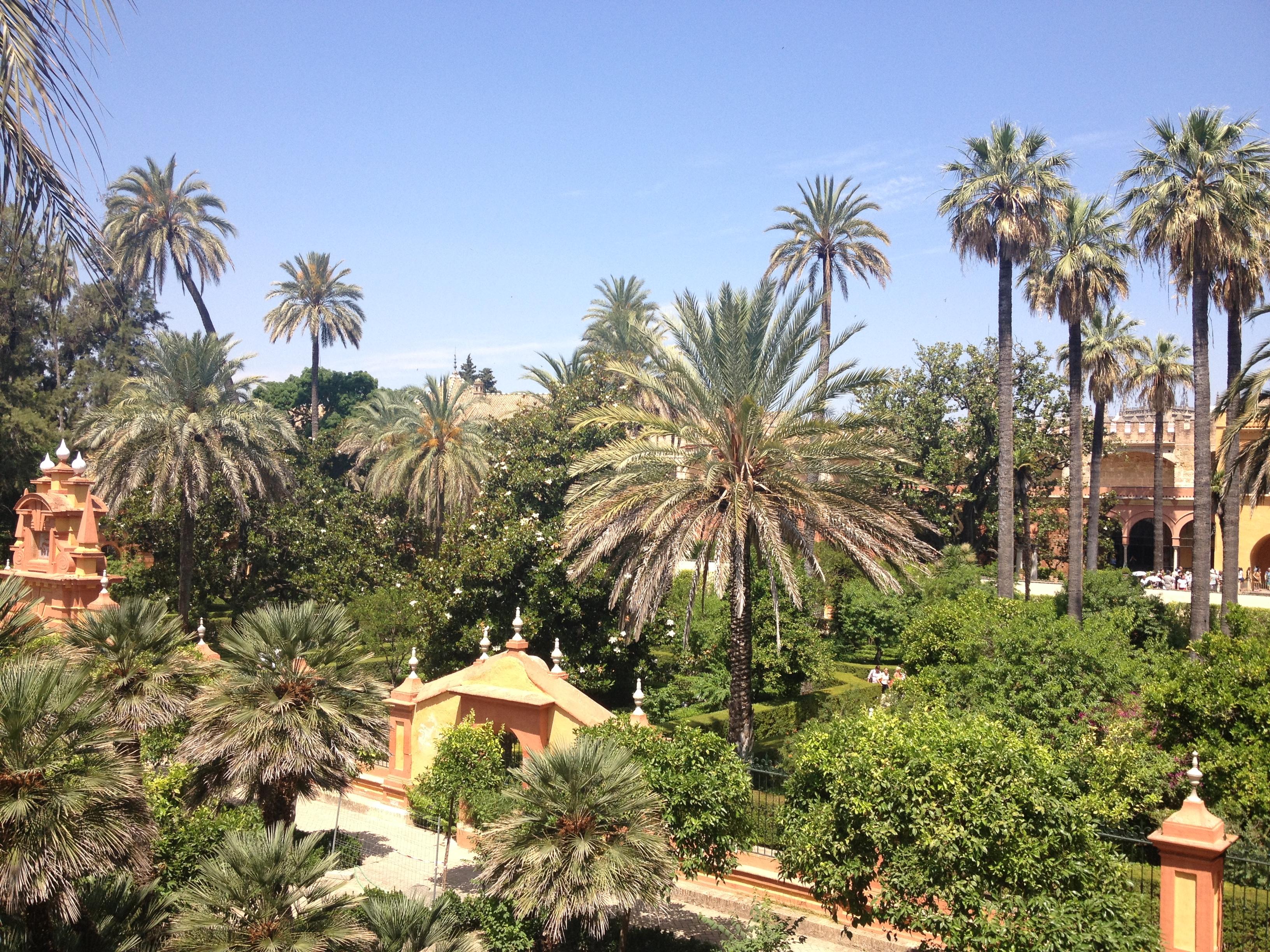 Giardini dell'Alcazar, Siviglia