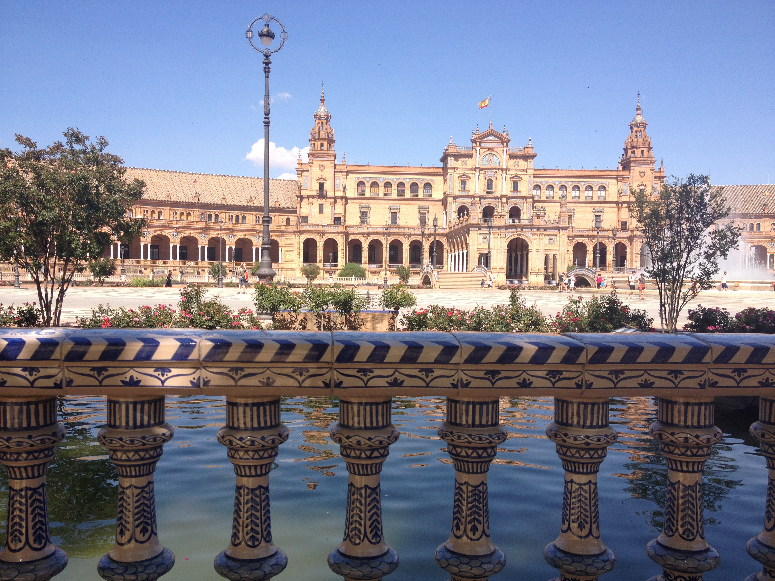 Plaza de Espana, Siviglia @oltreilbalcone