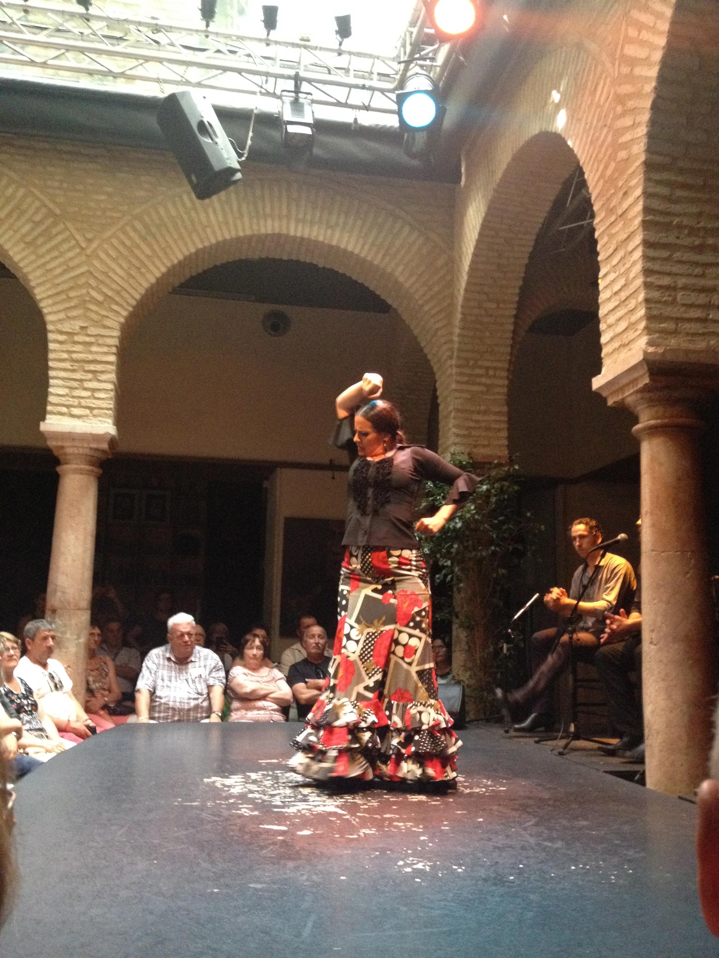 Spettacolo al Museo del Flamenco @oltreilbalcone