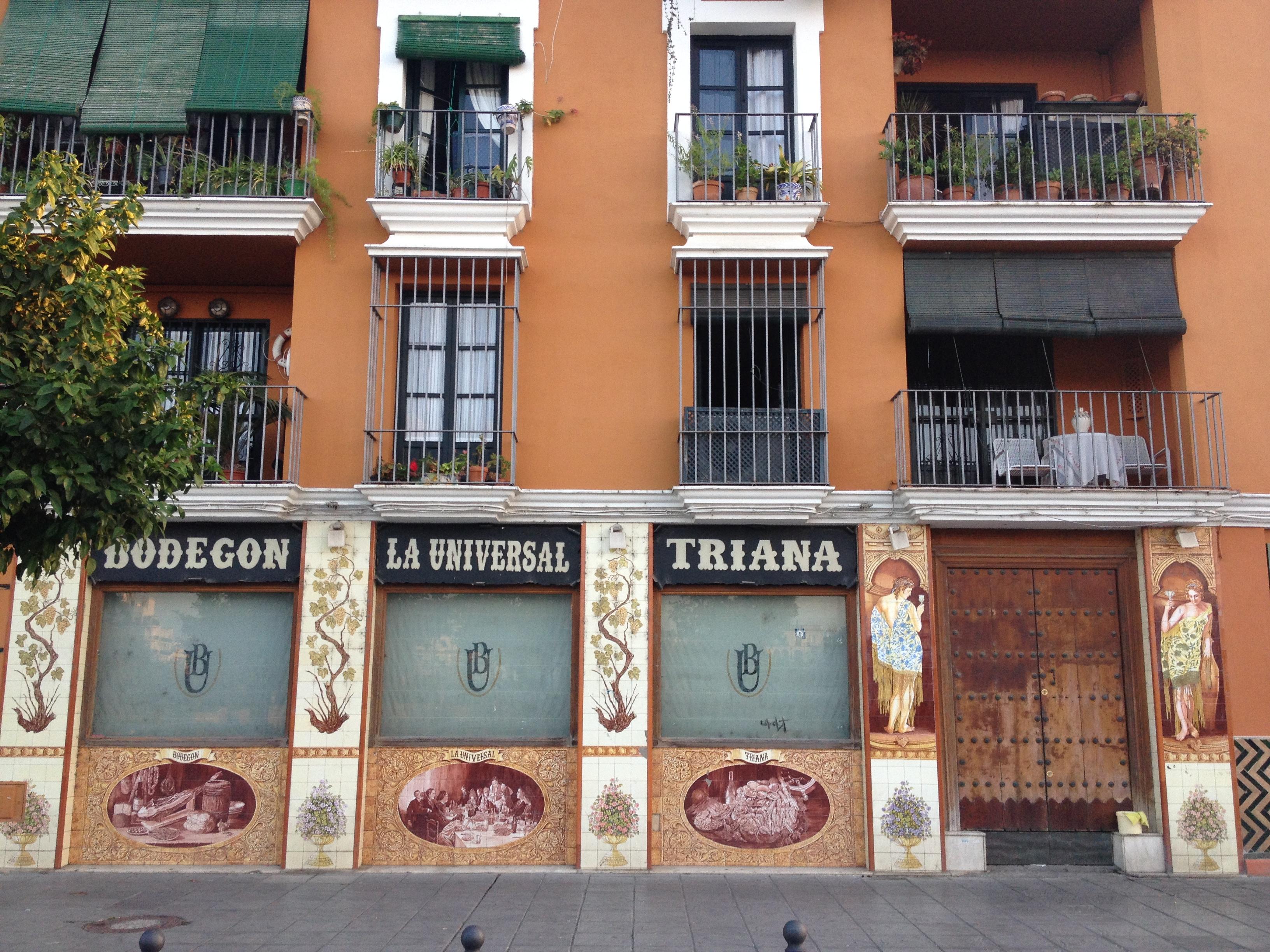 Barrio de Triana, Siviglia @oltreilbalcone