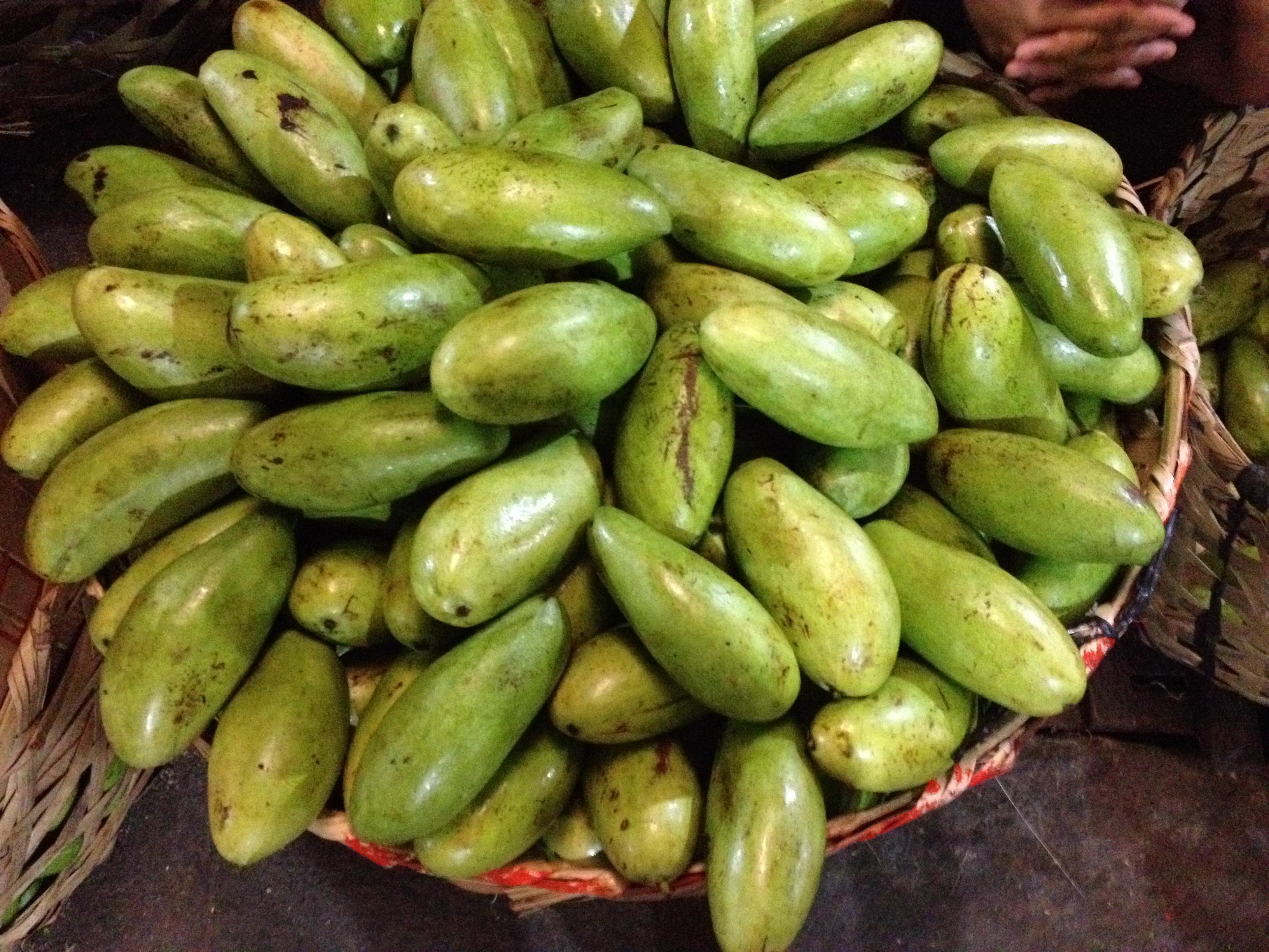 Mango al Carbon market @oltreilbalcone