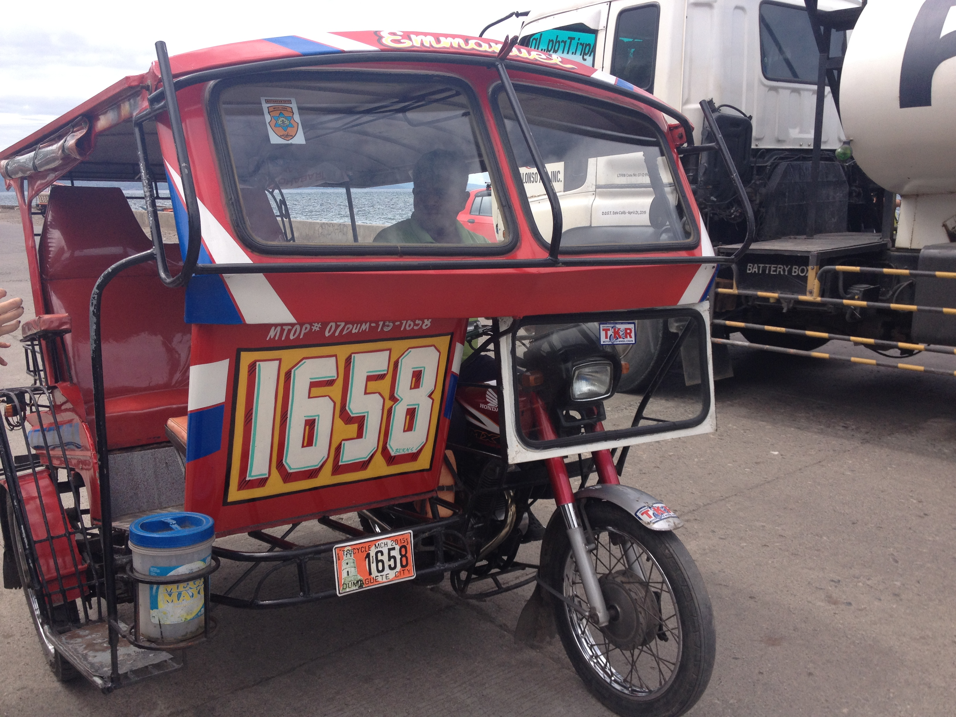 Tricycle a Dumaguete @oltreilbalcone