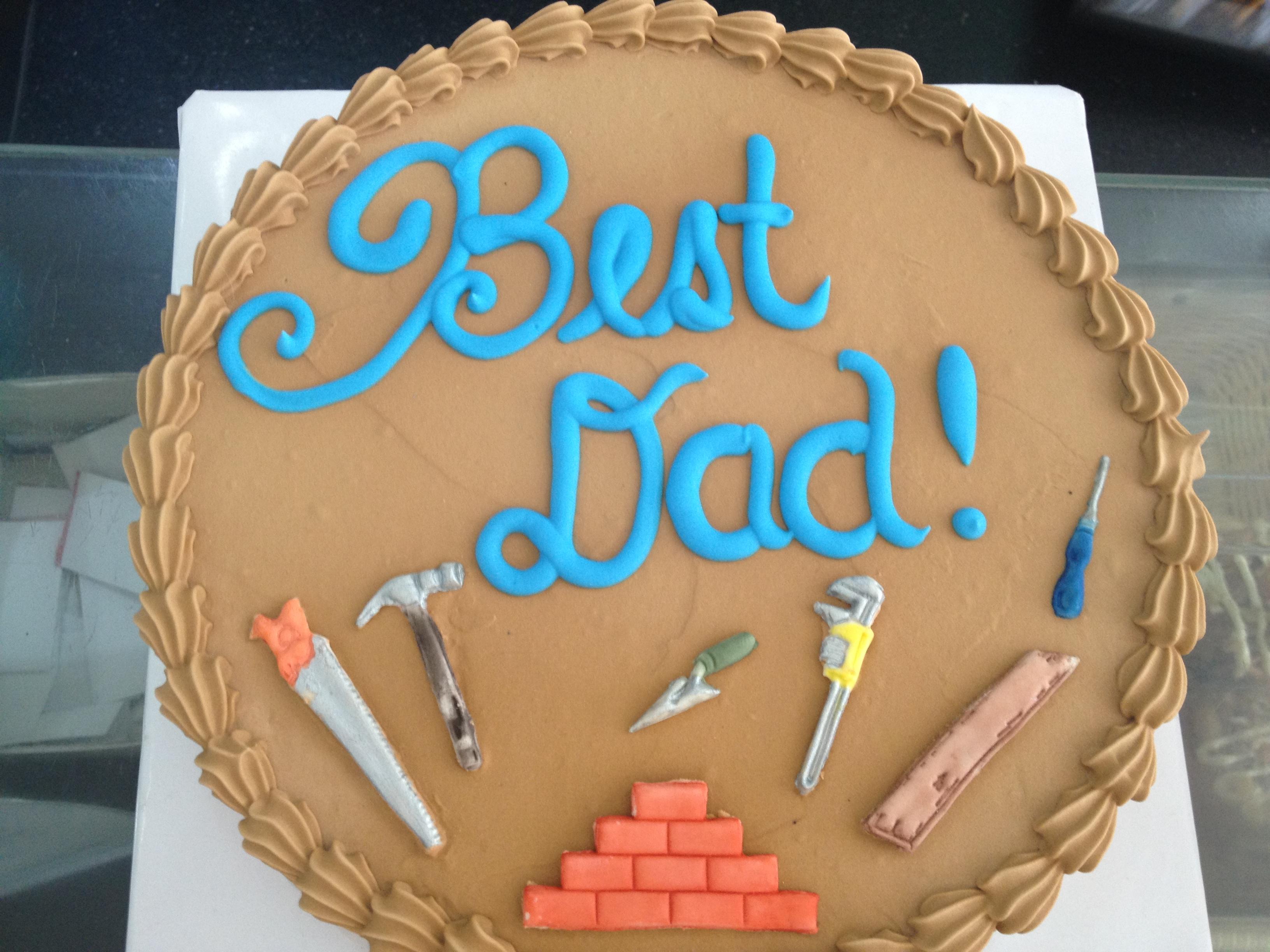 Una torta in occasione della festa del papà da Sans Rival Cakes and Pastries.