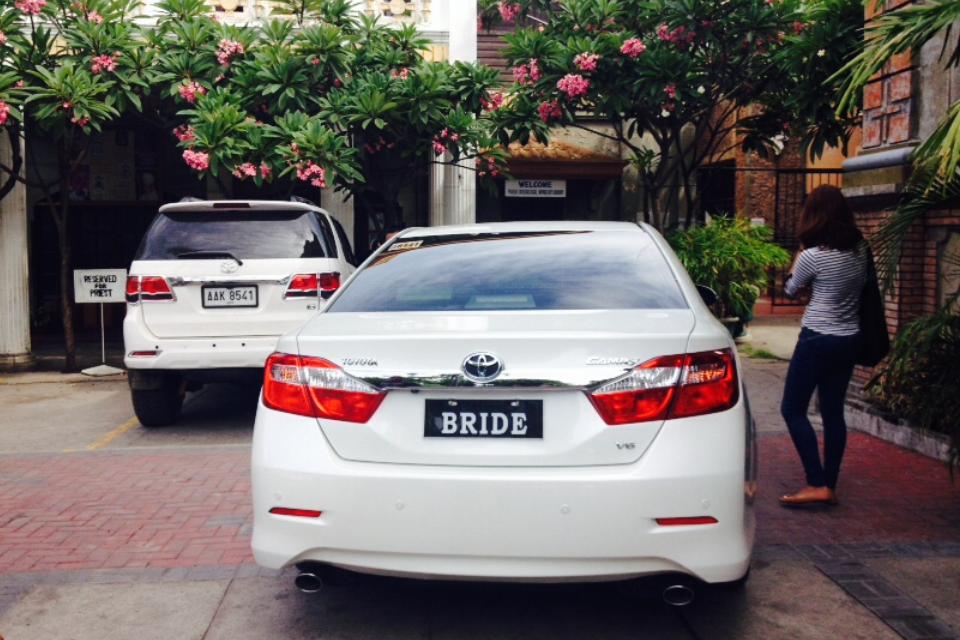 La macchina della sposa., Dumaguete @oltreilbalcone