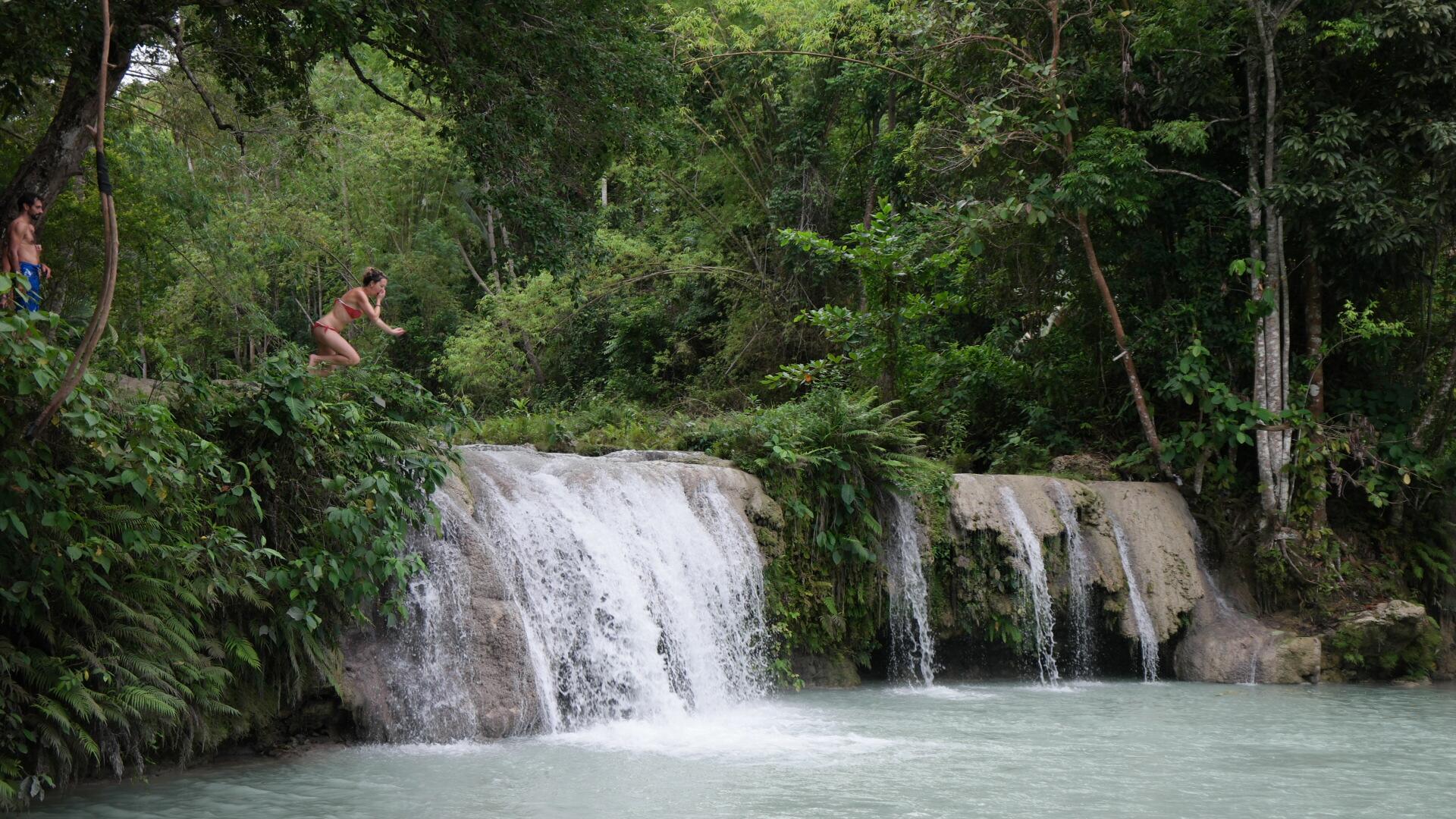 Cambugahay Falls, Siquijor @NunziaCillo