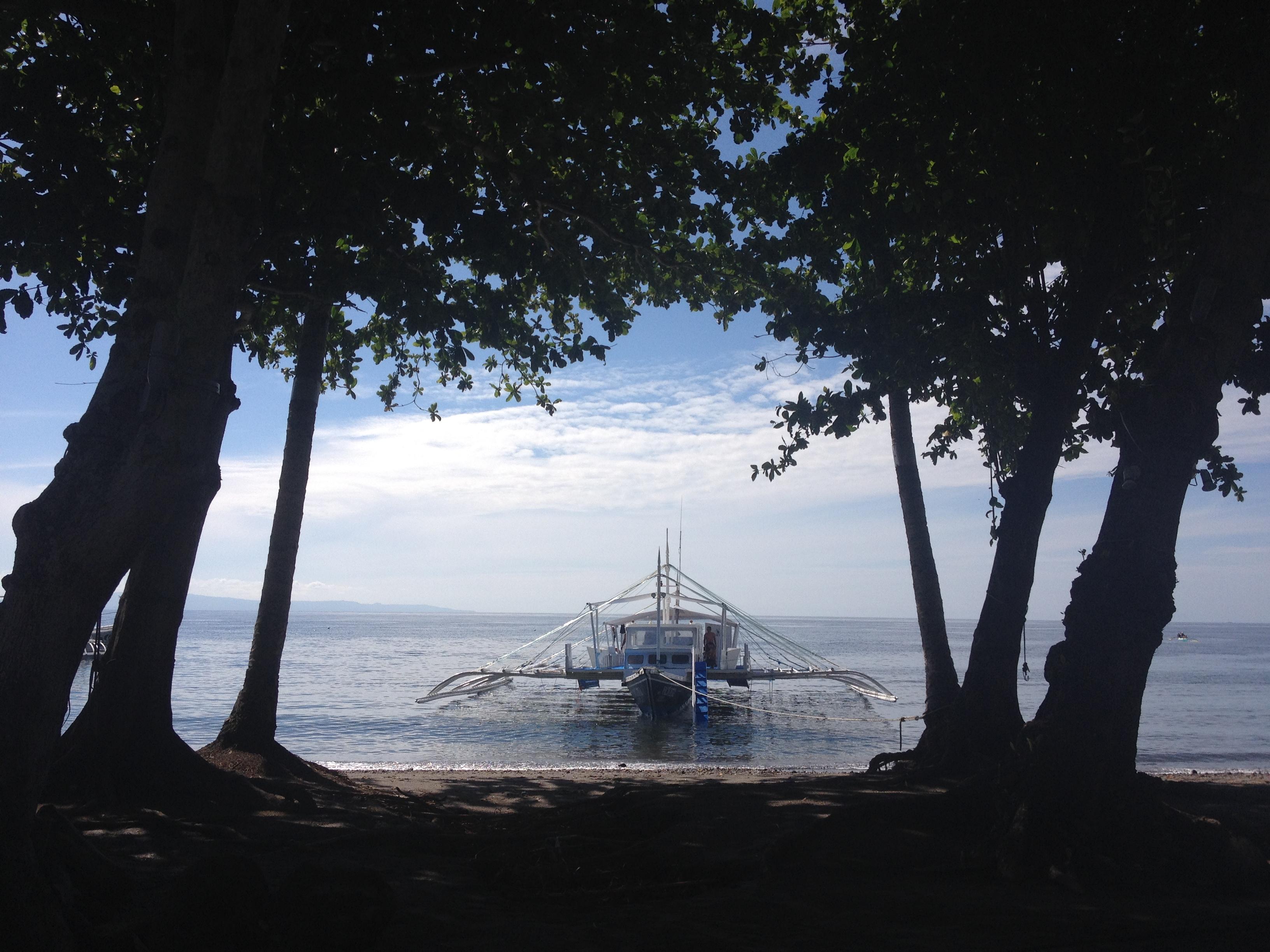 Catamarano dell'Atmosphere Resort