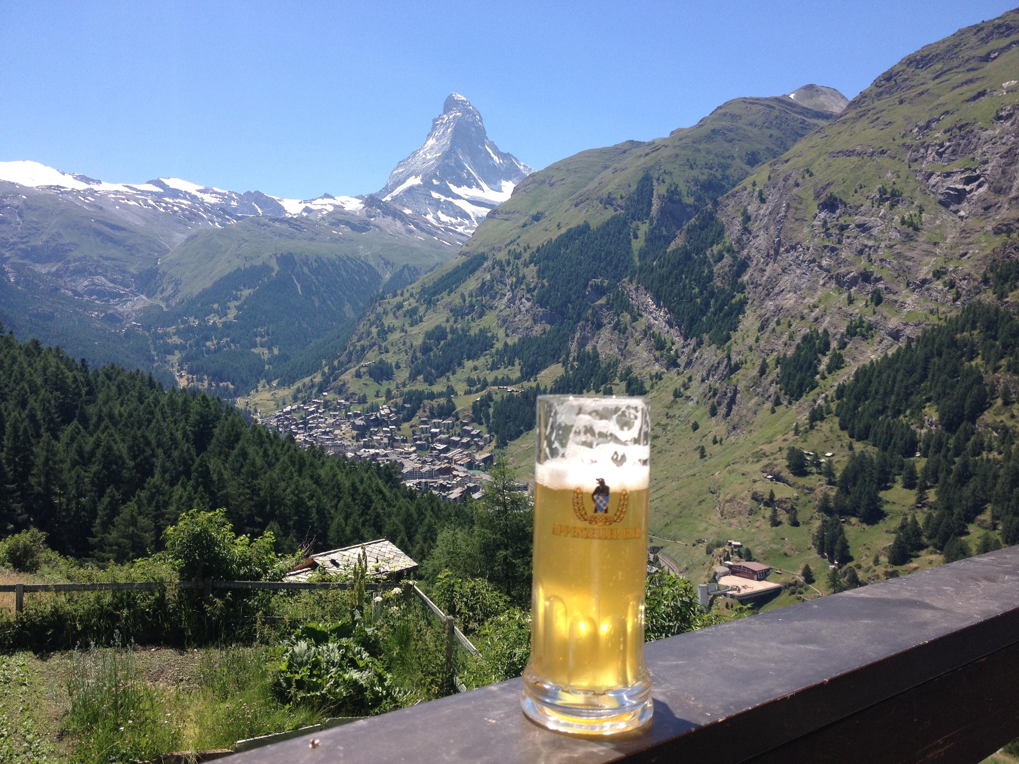 Birra e Cervino @oltreilbalcone