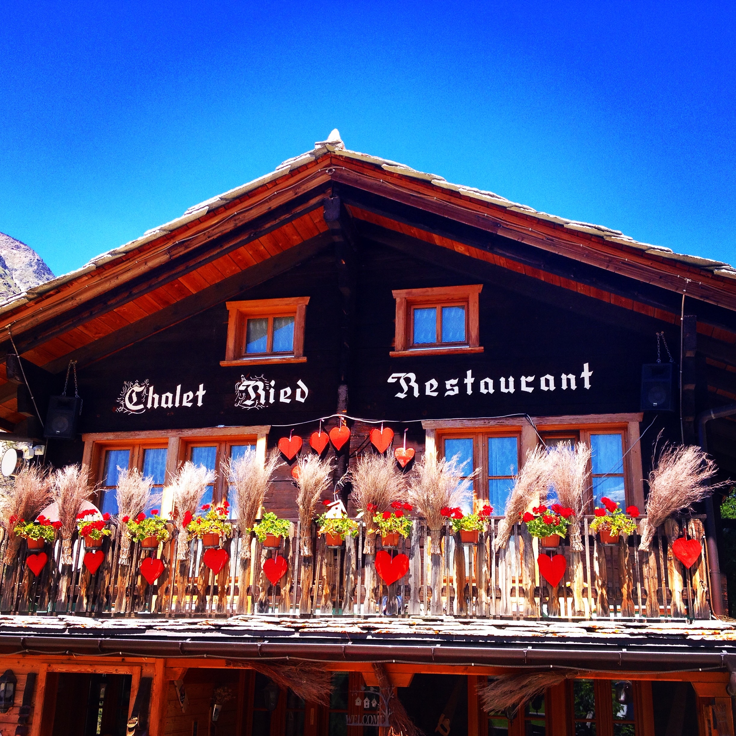 Ried Restaurant @oltreilbalcone