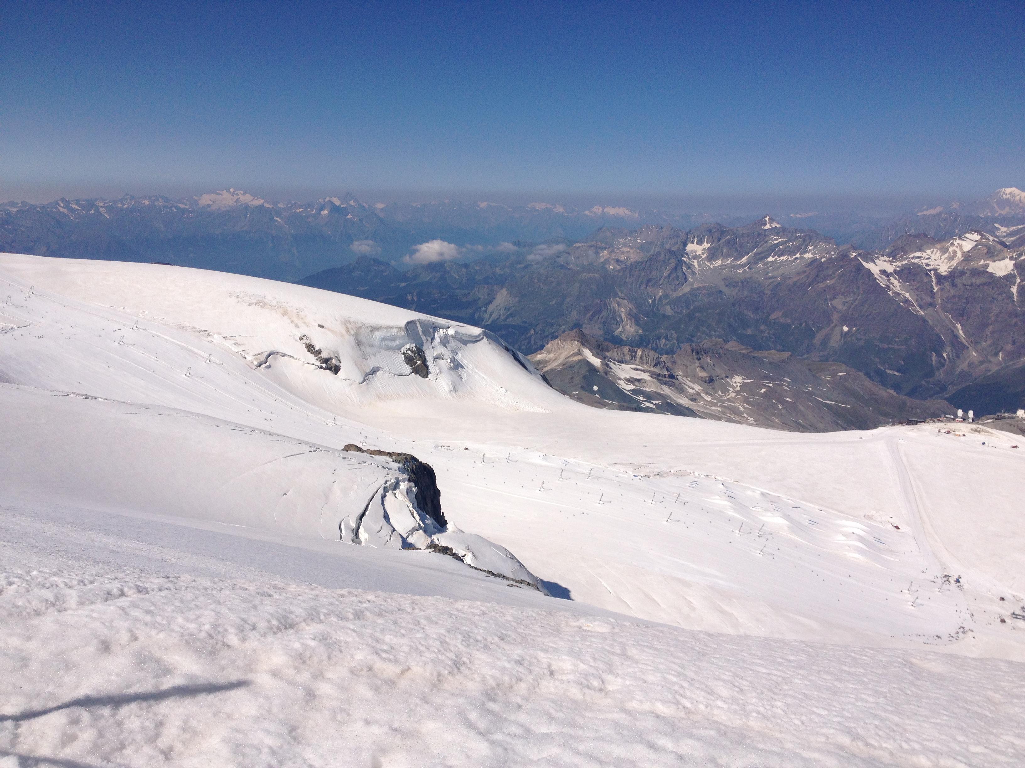terhorn Glacier Paradise @oltreilbalcone