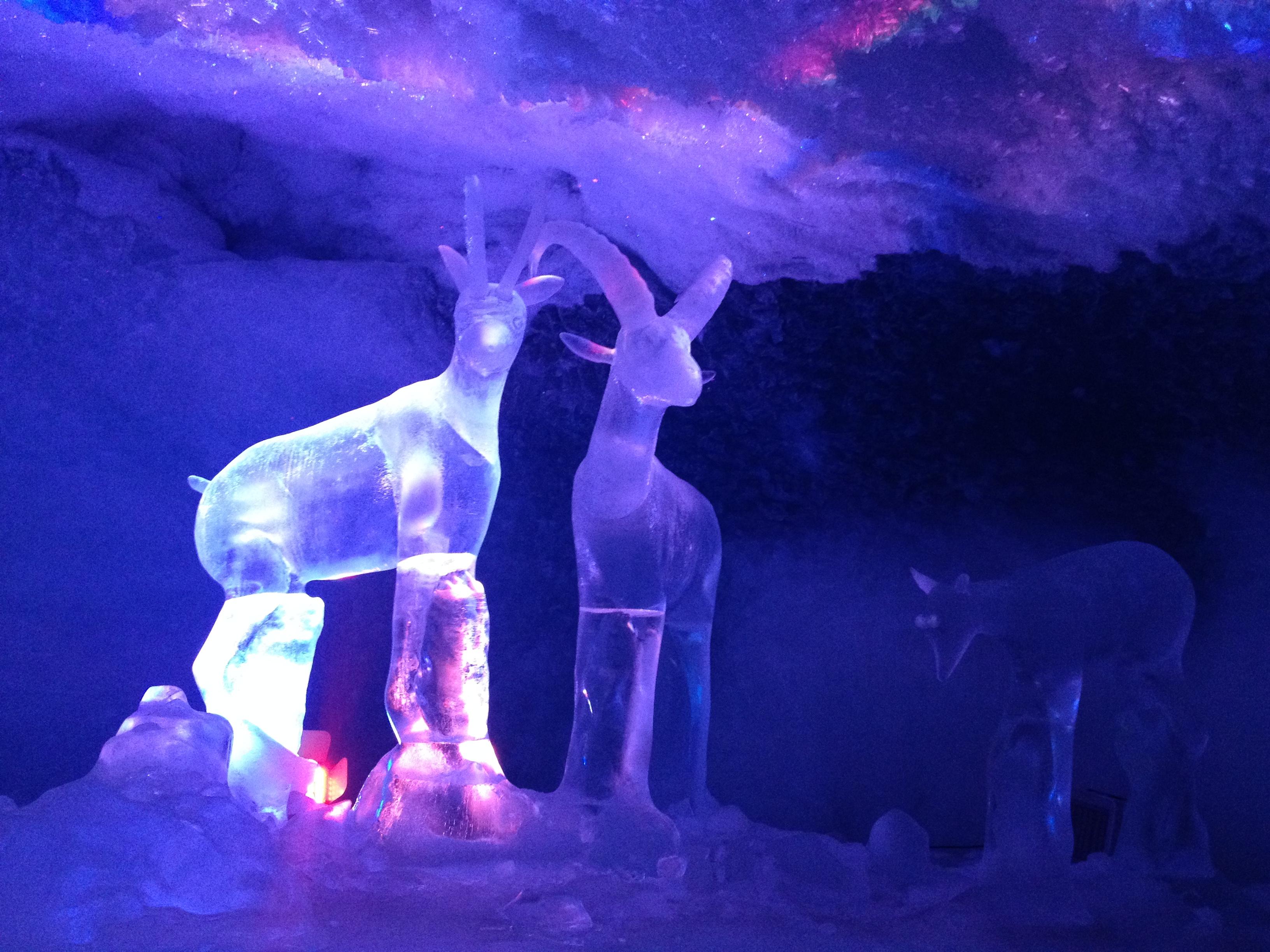 Grotta di ghiaccio, Matterhorn Glacier Paradise @oltreilbalcone