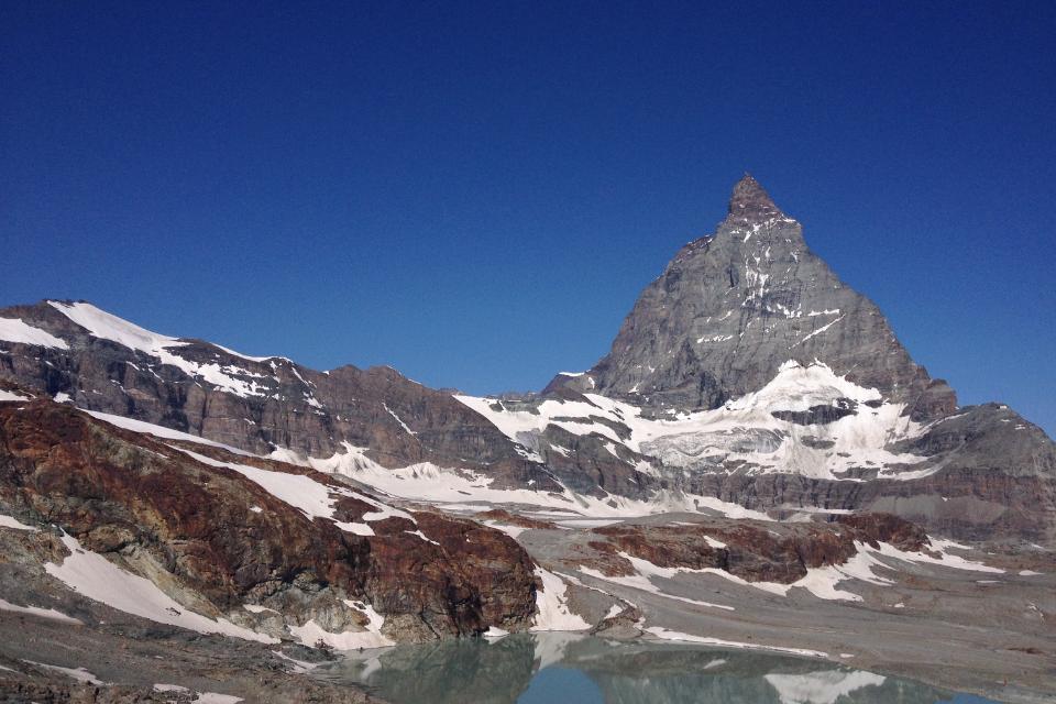 Veduta dal Matterhorn Glacier Paradise @oltreilbalcone