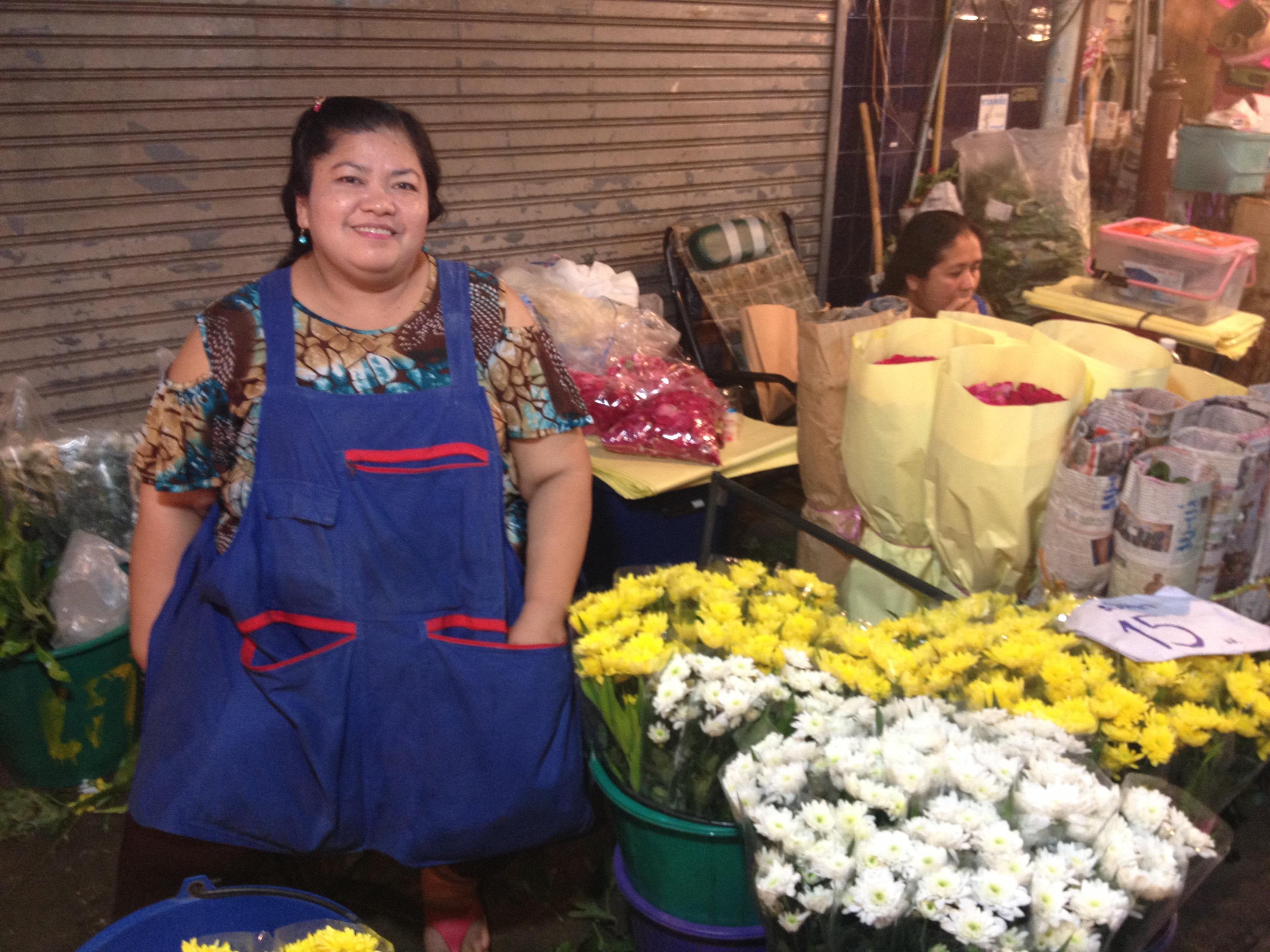 Mercato dei fiori, Bangkok @oltreilbalcone