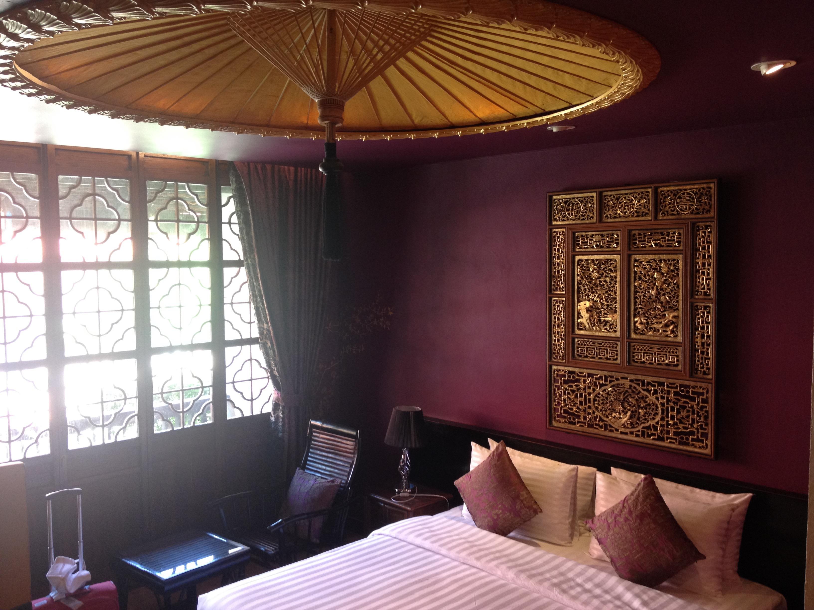 La camera del Tharaburi Resort, Sukhothai
