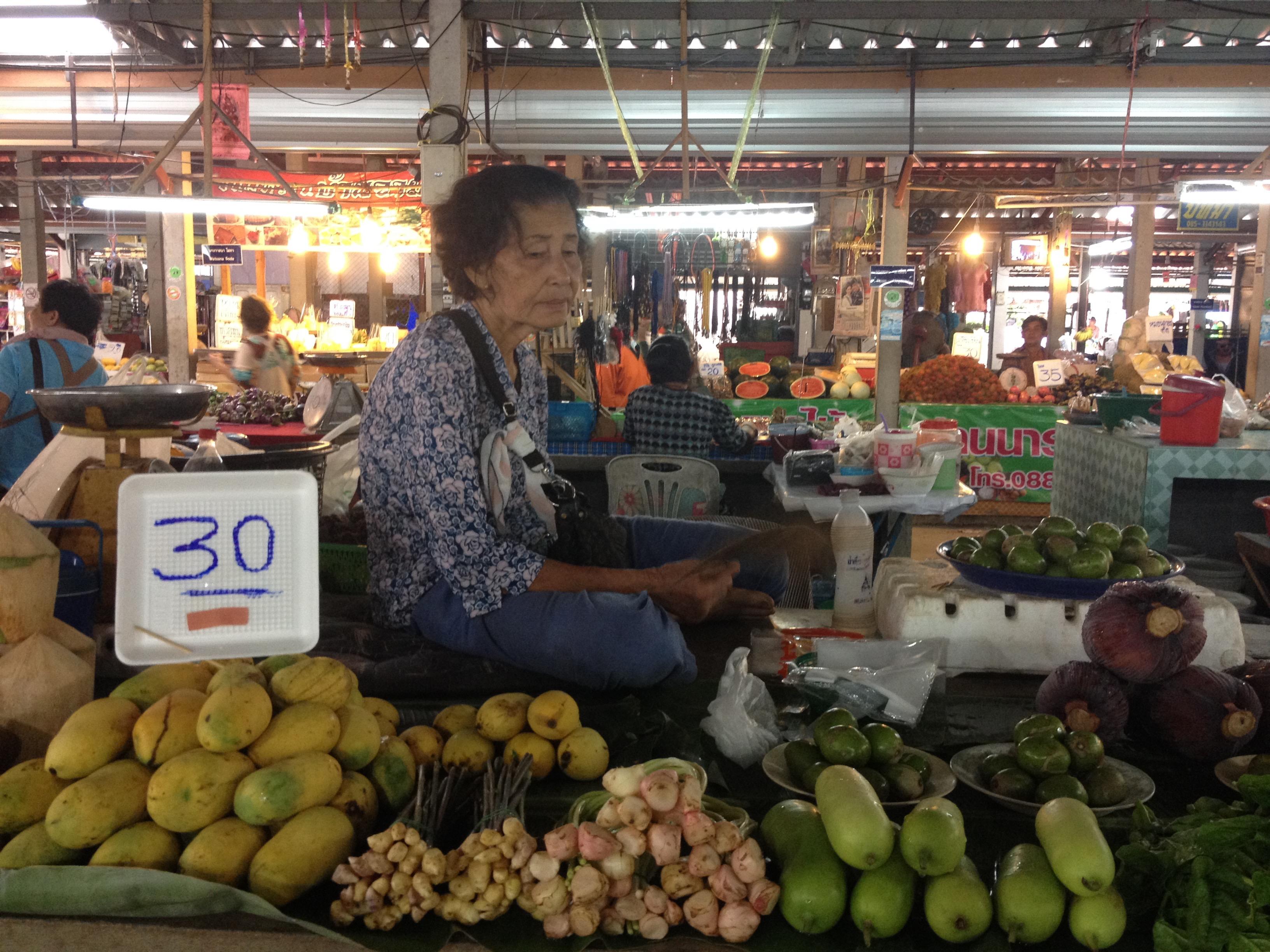 Mercato di Sukhothai @oltreilbalcone
